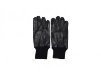 Перчатки стрелковые кожаные, чёрные