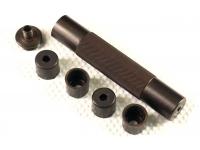 Саундмодератор для МР-654, МР-371 и пистолетов ASG (при наличии переходной втулки с резьбой 9*1)