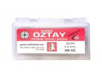 Пули пневматические Super OZTAY diabolo 4,5 мм (500 шт.)