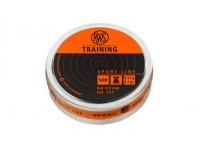 Пули пневматические RWS Training 4,5 мм 0,53 гр (500 шт.)