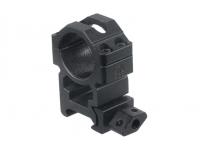 Кольца Leapers UTG 25,4 мм быстросъемные на Weaver с винтовым зажимом высокие