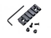 Планка Weaver/Picatinny для цевий VS-24/24U/23/25/29K (5 слотов, длина 55 мм)