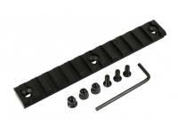 Планка Weaver/Picatinny для цевий VS-24/24U/23/25/29K (13 слотов, 136 мм)