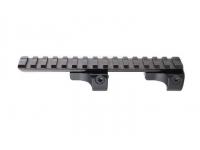 Планка Picatinny Blaser R93 быстросъемная (сталь, регул. рычаги, вынос 50 мм, высота 19,5 мм)
