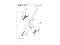взрыв схема к пневматическому пистолету Gamo P-900 IGT