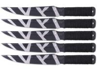 Набор ножей Ножемир M-115-2 Баланс SET 5 (набор для спорт метания)