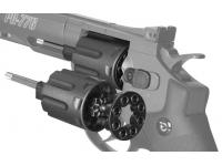 барабан пневматического револьвера Gamo PR-776 вид слева