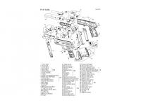 взрыв схема к пневматическому пистолету Gamo P-27 Dual