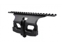 Кронштейн Аргос-СВД Weaver для Тигр/СВД боковой быстросъемный (длина 195мм, Д16Т, черный)