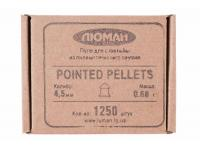 Пули пневматические Люман Pointed pellets 4,5 мм 0,68 грамма (1250 шт.)