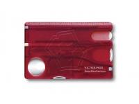 Швейцарская карта SwissCard Nailcare красная (0.7240.T)