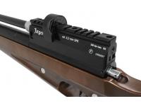 Пневматическая винтовка Jæger SPR Карабин 5,5 мм (редуктор, ствол 450 мм., чок) планка
