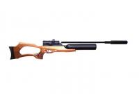 Пневматическая винтовка Jager SP Карабин с колбой 6,35 мм (прямоток, ствол 550 мм., полигональный без чока)
