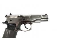Оружие списанное охолощенное Z75-СО (хром) под патр.св/звук.дейст.кал.10ТК (КУРС-С)(СХП) рукоять