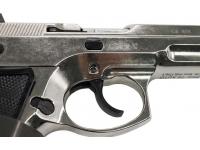Оружие списанное охолощенное Z75-СО (хром) под патр.св/звук.дейст.кал.10ТК (КУРС-С)(СХП) спуск.крючок