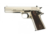 Оружие списанное охолощенное CLT1911-СО (хром) под патр.св/звук.дейст.кал.10х24 (КУРС-С)