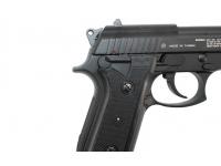 Пневматический пистолет Cybergun GSG-92 (Beretta 92) металл 4,5 мм накладка на рукоять