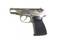 Травматический пистолет МР-80-13Т .45 Rubber (хим.никель, нитр.титана, КС)