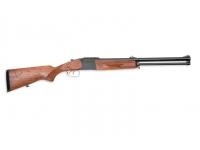 Ружье МР-94 223Rem и 12/76 орех, резиновый затыльник, 3 чока, с механизмом сведения с домкратиком L=600