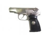 Травматический пистолет МР-80-13Т .45 Rubber (хим.никель, накладки, в КС)