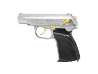 Травматический пистолет МР-80-13Т .45 Rubber (хим.никель, в КС)