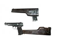 Оружие списанное охолощенное пистолет Р-414 АПС - приклад