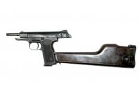 Оружие списанное охолощенное пистолет Р-414 АПС - вид слева