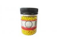 Шарики пластиковые 6 мм BLS 0,12 гр желтые (1000 шт)
