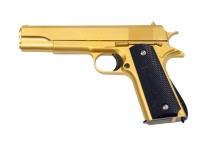 Пистолет Galaxy G.13GD (золотистый) пружинный 6 мм