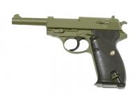 Пистолет Galaxy G.21G (зеленый) пружинный 6 мм