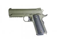 Пистолет Galaxy G.25G (зеленый) пружинный 6 мм