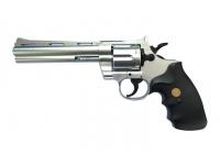 Револьвер Galaxy G.36S (серебристый) пружинный 6 мм