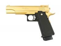 Пистолет Galaxy G.6GD (золотистый) пружинный 6 мм