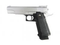 Пистолет Galaxy G.6S (серебристый) пружинный 6 мм