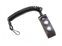 Шнур страховочный спиральный Эконом-3, черный