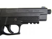 Пневматический пистолет Sig Sauer X-Five 4,5 мм (P226-X5-177-BLK) планка