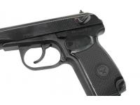 Пневматический пистолет МР-658К (с блоубэком) 4,5 мм спусковой крючок