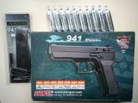 Мощный и надёжный пневматический пистолет CyberGun KWC 941 (Jericho)