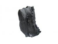 Рюкзак Маршевый косая молния (черный) вид сбоку
