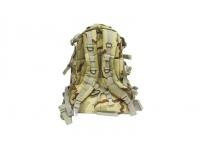 Рюкзак Маршевый косая молния 3-Color Desert вид сзади