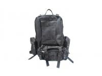 Рюкзак с тремя сумками (черный)