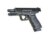 Оружие списанное охолощенное К-17-СО под патр.св/звук.дейст.кал.10ТК (КУРС-С) - вид слева