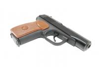 Травматический пистолет МР-80-13Т .45 Rubber, без дополнительного магазина вид спереди