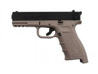 Оружие списанное охолощенное К-17-СО (песочный) под патр.св/звук.дейст.кал.10ТК (КУРС-С)