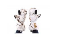 Варежки Baikal M (белые, с клапаном, пристег.к одежде, на гус.пухе)