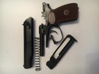 Пневматический пистолет Макарова 654К