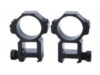 Кольца Leapers AccuShot 30 мм на Weaver, STM, высокие (RGWM-30H4)