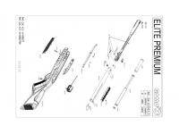 Пневматическая винтовка Gamo Elite Premium IGT 3J 4,5 мм взрыв-схема