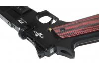 Пневматический пистолет Ataman АР16 стандарт металл black 4,5 мм целик
