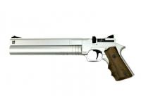 Пневматический пистолет Ataman АР16 Silver стандарт металл 4,5 мм